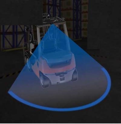 【安全対策製品】LED ARC Light(弓形照射LEDライト)