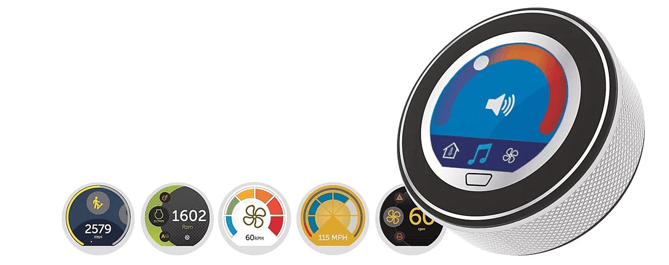 【Grayhill (グレイヒル)社#1】新製品/耐環境ディスプレイ搭載 タッチエンコーダー