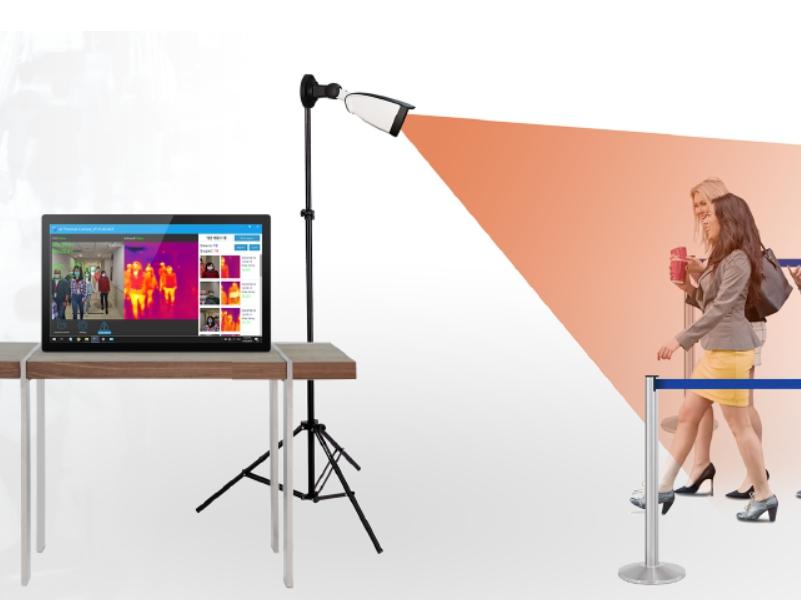 赤外線サーモグラフィカメラ QGK-5200RLのご紹介【台湾Qbic社】