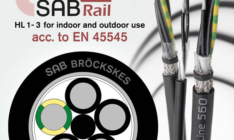 【鉄道・建設機械/特殊車両】屋外で保護なし使用可能 耐UV/高耐候性ケーブル R560シリーズ SAB