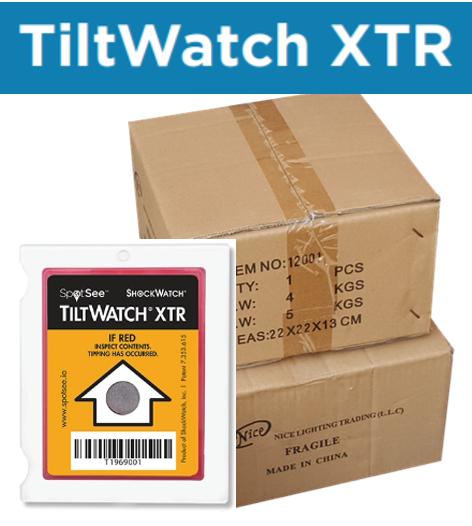 SpotSee社ティルトウォッチの使用方法【TILTWATCH XTR】