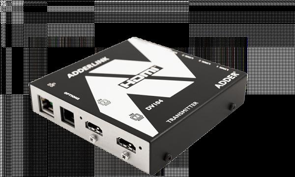 【製品情報】 PCや配線の数を減らしデジタルサイネージ環境をもっとスリムに!! KVMエクステンダー ADDERLink™DV104T