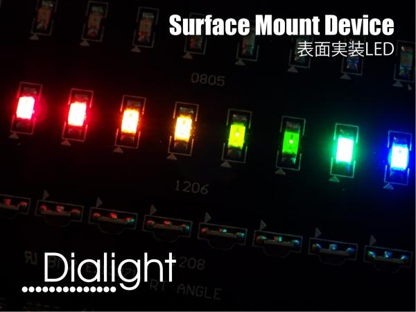 Dialight Micro LED® 表面実装LED